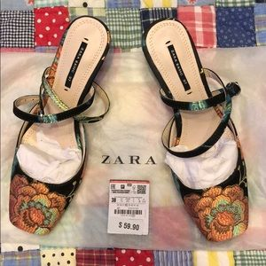Beautiful Zara Basic Floral Embroidered